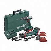 Набор Metabo Combo Set 2.6.1 18 V *BS18+MT18
