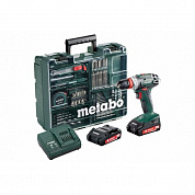 Шуруповерт Metabo BS 18 Quick Set Mobile Workshop